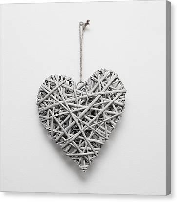 Heart Ornament Canvas Print