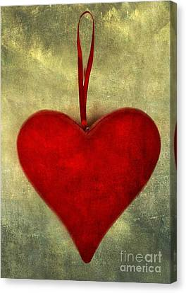 Heart Shape Canvas Print by Bernard Jaubert