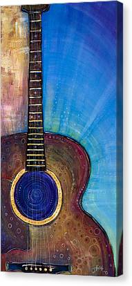 Heart Song Canvas Print by Tanielle Childers