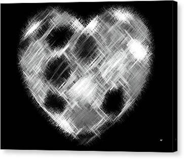 Heartline 10 Canvas Print