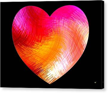Heartline 6 Canvas Print by Will Borden