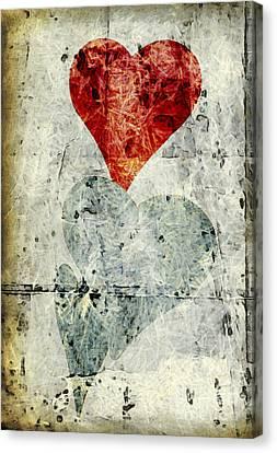 Hearts 1 Canvas Print by Edward Fielding