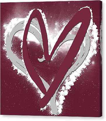 Hearts For Hearts 12 Canvas Print by Melissa Smith