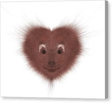 Hearty Beast 1 Canvas Print