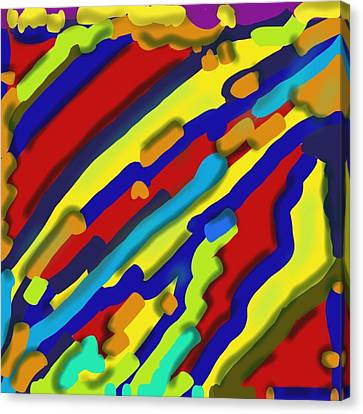 Digital Free Style Canvas Print - Heat Signature by Terry Cobb