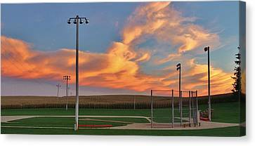 Heaven On Dirt Canvas Print by Christopher Miles Carter