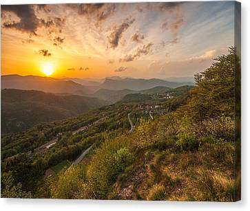 Heaven On Earth Canvas Print by Davorin Mance