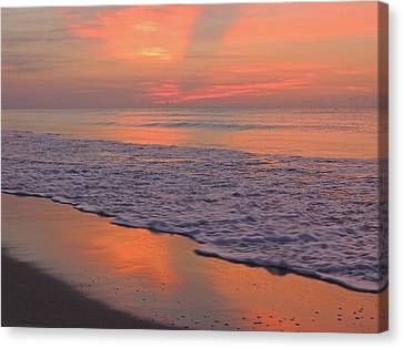 Heaven On Earth Canvas Print by Eve Spring