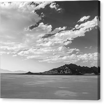 Heaven On The Salt- Bonneville Salt Flats Canvas Print