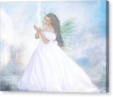 Heavenly Angel Canvas Print