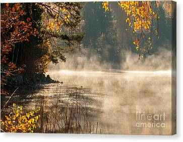 Canvas Print featuring the photograph Heavenly Atmosphere by Rose-Maries Pictures