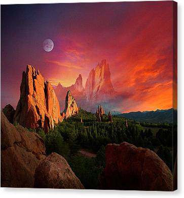 Heavenly Garden Canvas Print