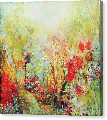 Heavenly Garden Canvas Print by Katie Black
