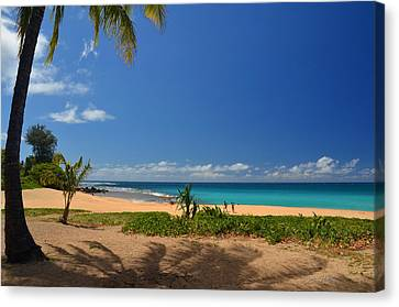 Heavenly Haena Beach Canvas Print