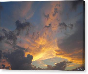 Canvas Print featuring the photograph Heavenly Sky by Bill Woodstock
