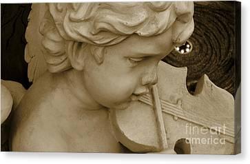 Heavenly Violine Canvas Print by Susanne Van Hulst