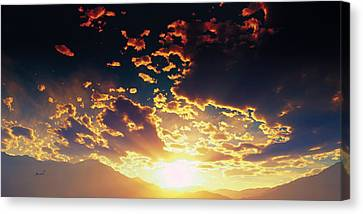 Heavens Breath 25 Canvas Print