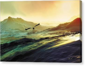 Heavens Breath 29 Canvas Print