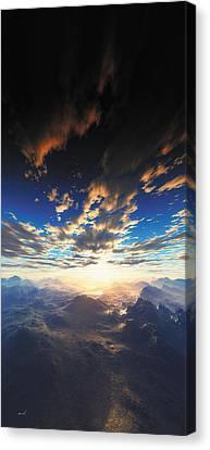 Heaven's Breath 31 Canvas Print
