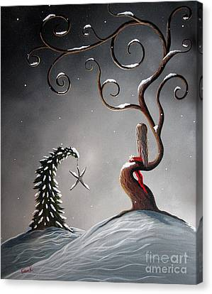 Heaven's Brightest Star By Shawna Erback Canvas Print