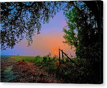 Heaven's Gate Canvas Print by John Harding