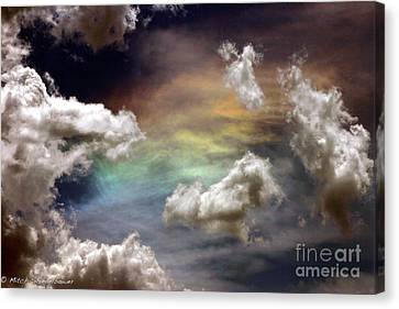 Canvas Print featuring the photograph Heaven's Gate by Mitch Shindelbower