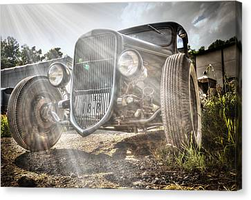 Heavens Model T Canvas Print by John Swartz