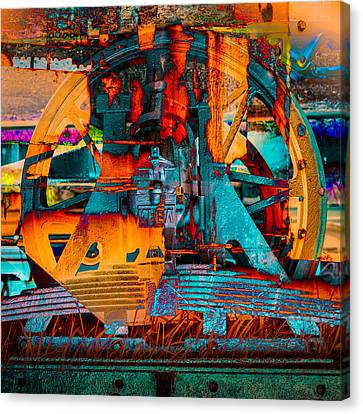 Heavy Duty I Canvas Print by Andy Bitterer