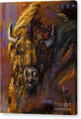Heavy Canvas Print by Frances Marino