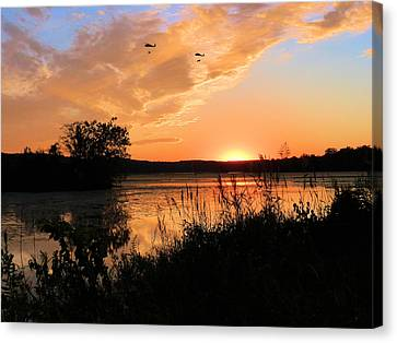 Heavy Lifting Canvas Print by JC Findley