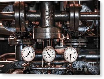 Heavy Machinery Canvas Print by Carlos Caetano