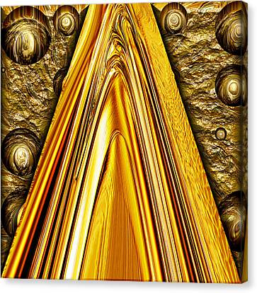Heavy Metal 1 Canvas Print by Wendy J St Christopher