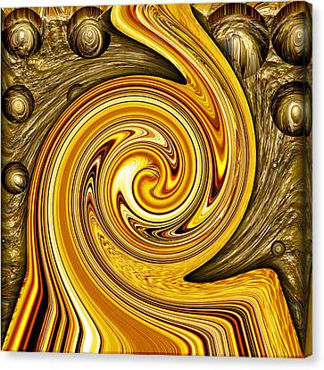 Heavy Metal 2 Canvas Print by Wendy J St Christopher