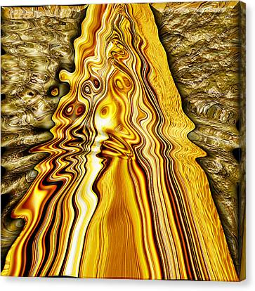 Heavy Metal 4 Canvas Print by Wendy J St Christopher