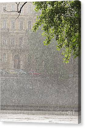 Heavy Rain Canvas Print by Jan Halaska