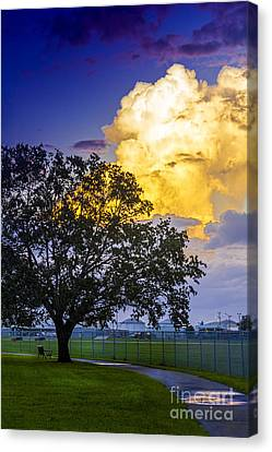 Heavy Sky Canvas Print by Marvin Spates