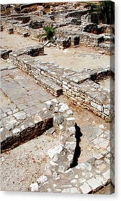 Hebrew Art Archaeological Remains Canvas Print by Prisma Archivo