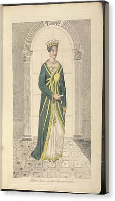 Hebrew Queen Canvas Print by British Library