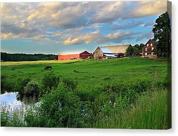 Hebron Farm Canvas Print