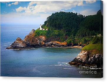 Guides Canvas Print - Heceta Head by Inge Johnsson