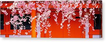 Heian-jingu Kyoto Japan Canvas Print by Panoramic Images