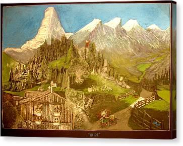 Heidi 1937 Canvas Print by Joseph Hawkins