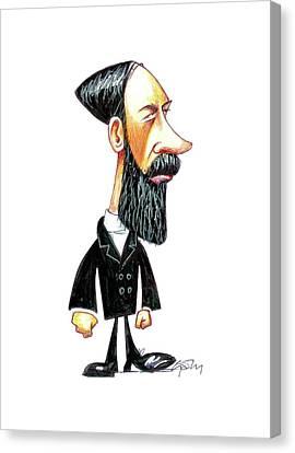 Heinrich Hertz Canvas Print