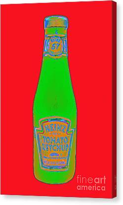 Heinz Tomato Ketchup 20130402 Canvas Print by Wingsdomain Art and Photography