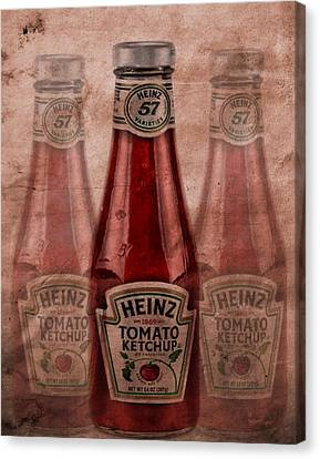 Tomato Canvas Print - Heinz Tomato Ketchup by Dan Sproul