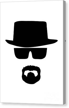 Series Canvas Print - Heisenberg Breaking Bad by Caio Caldas