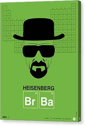 Heisenberg Poster 2 Canvas Print by Naxart Studio