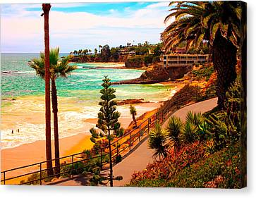 Heisler Park Laguna Beach Canvas Print