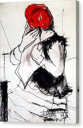 Helene #1 - Figure Series Canvas Print