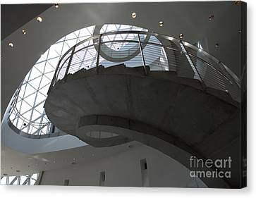 Helical Staircase Canvas Print by Liane Wright